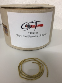 3398/00 Wire End Ferrules (Splices)
