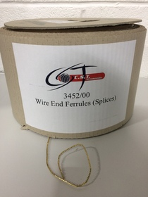 3452/00 Wire End Ferrules (Splices)